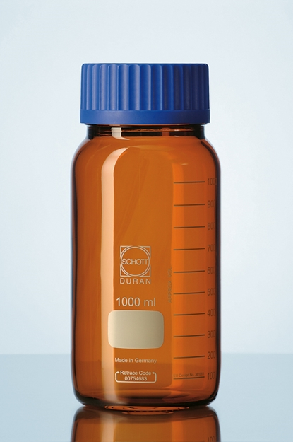 GLS80 AMBER BOTTLE